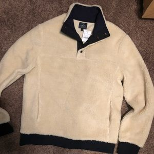 Beige fleece. New with tags
